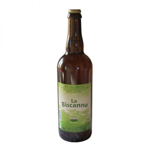 la biscana bière blonde du Pilat