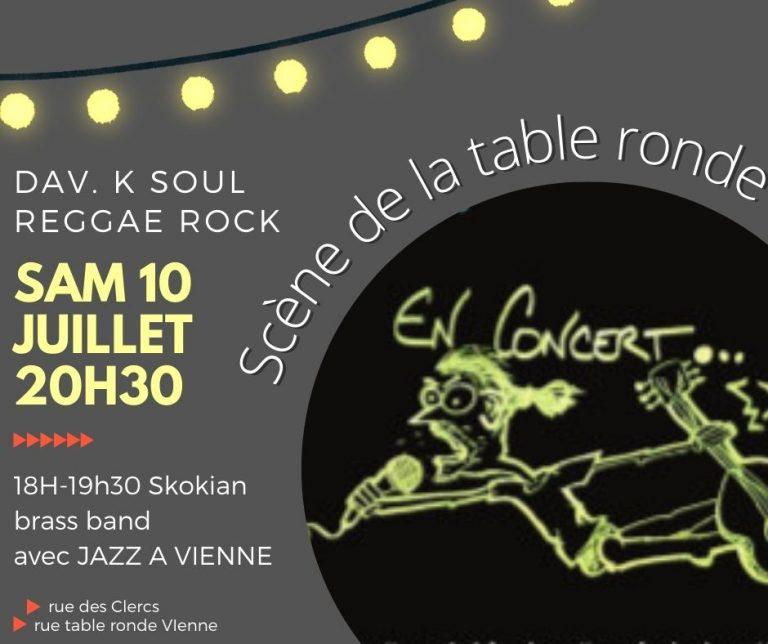 Dîner concert au simone's café/ off jazz à vienne